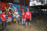 Participating artists of the most recent MuralsDC-commissioned public artwork on the Metro-Branch Trail.